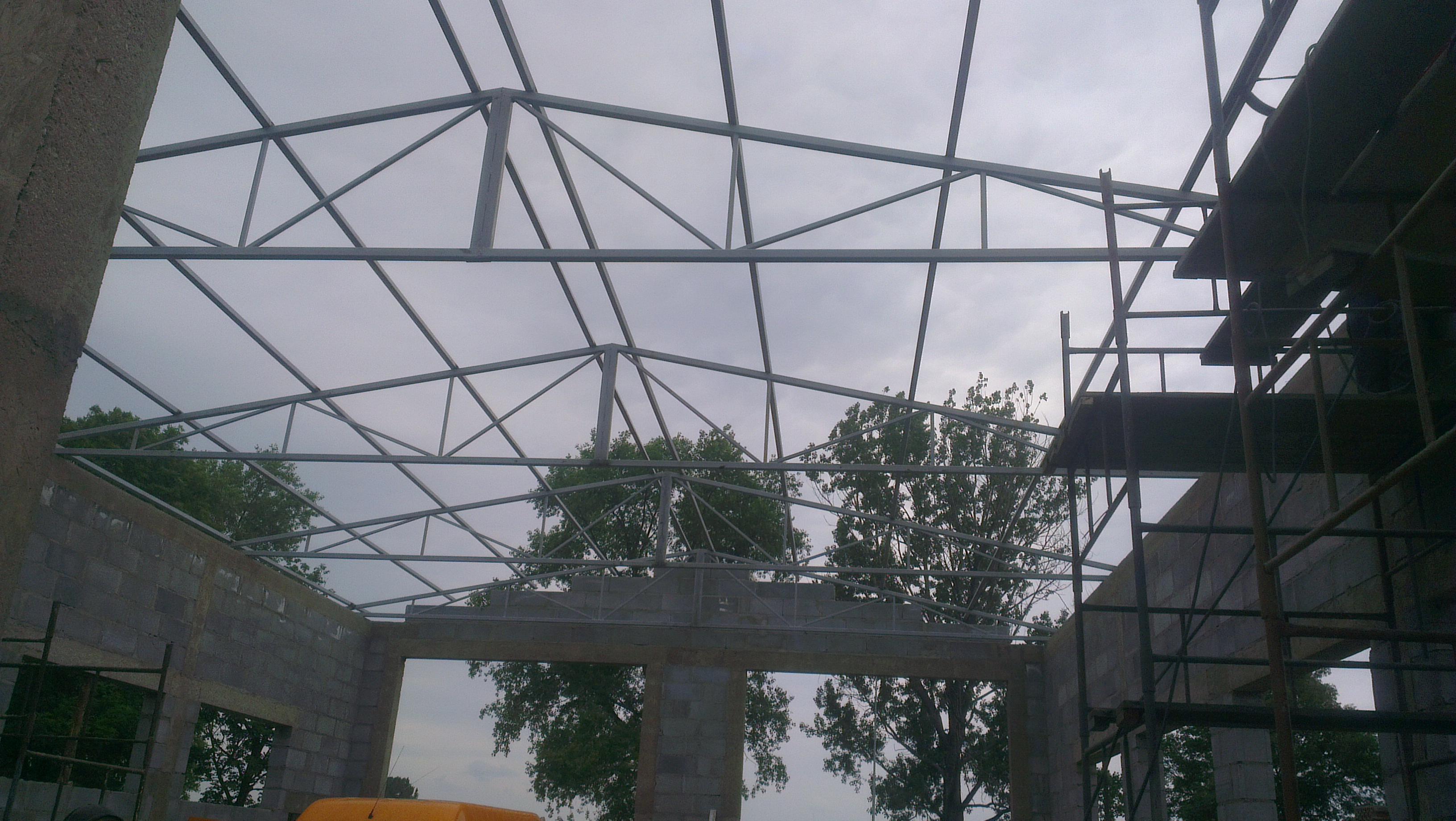 Konstrukcja stalowa - kratownica