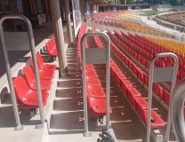 Stadion Olimpijski - barierki
