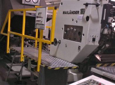 Barierki ochronne maszyny