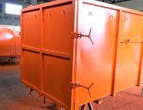 Kontener bramowy KO 10m3 na odpady półpłynne